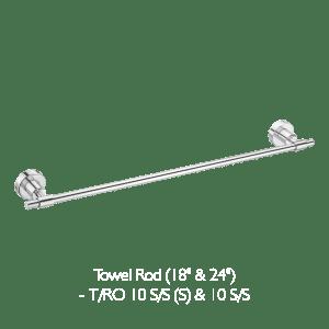 towel rod for bathroom