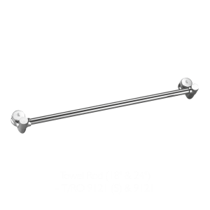 towel rod by p4 bathfittings